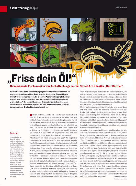 FRIZZ Das Magazin 12/2010