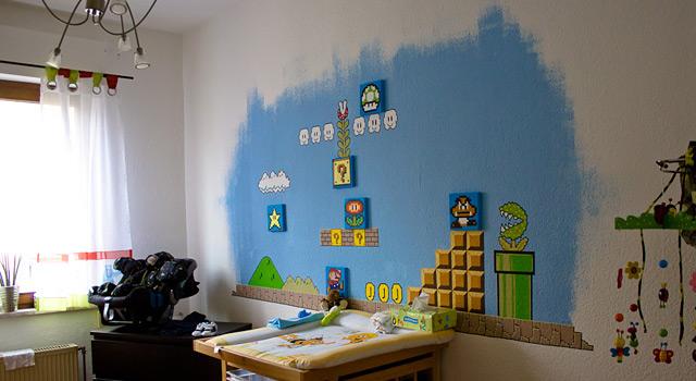 Charmant Super Mario Kinderzimmer Ideen - Die besten ...