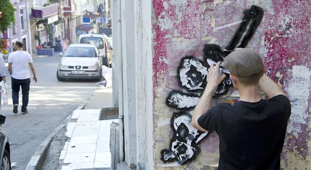 street art istanbul, lucas kraus, engin dogan, urban art agentur, istanbul